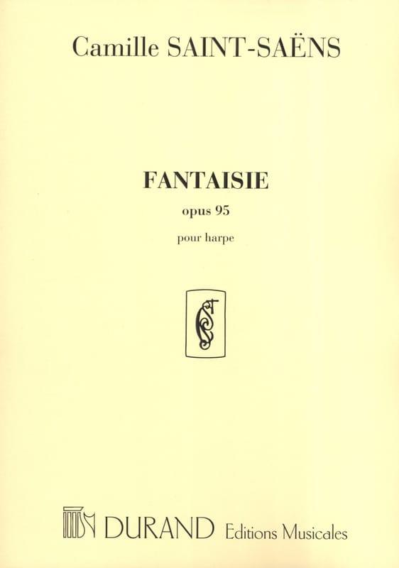 Fantaisie op. 95 - Harpe - SAINT-SAËNS - Partition - laflutedepan.com