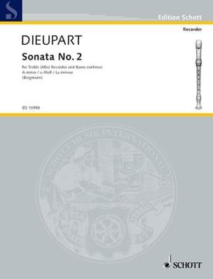 Sonata Nr. 2 a-Moll - Altblockflöte u. Bc laflutedepan