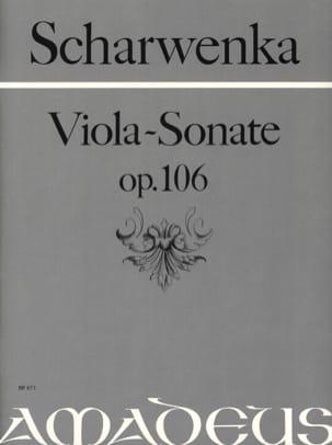 Sonate pour Alto op. 106 Philipp Scharwenka Partition laflutedepan