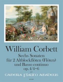 6 Sonates op. 4 - Volume 2 : Sonatas 4 - 6 - laflutedepan.com
