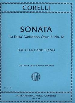 Sonata La Folia Variations CORELLI Partition laflutedepan