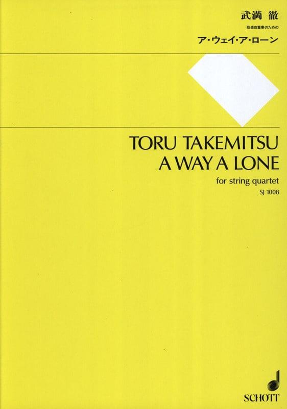 A way a Lone - String quartet - Score + Parts - laflutedepan.com