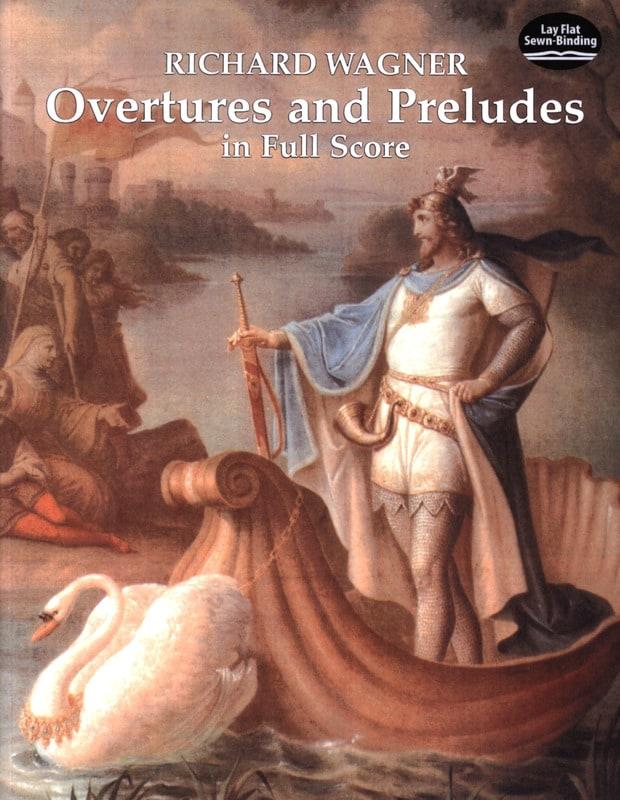 Ouvertures et Préludes - Full Score - WAGNER - laflutedepan.com