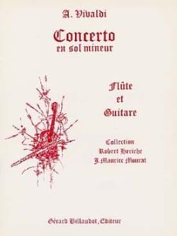 Concerto en sol mineur - Flûte et guitare VIVALDI laflutedepan
