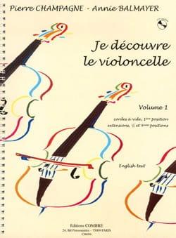 Je découvre le violoncelle - Volume 1 laflutedepan
