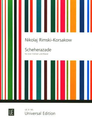 Scheherazade -2 Violinen Klavier RIMSKY-KORSAKOV laflutedepan