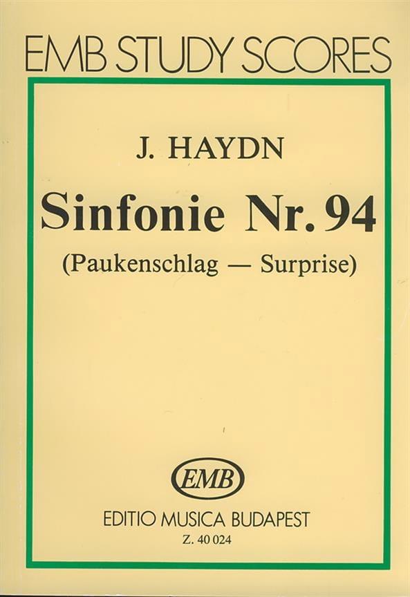 Symphonie N° 94 La Surprise - HAYDN - Partition - laflutedepan.com