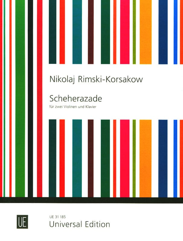 Scheherazade -2 Violinen Klavier - RIMSKY-KORSAKOV - laflutedepan.com