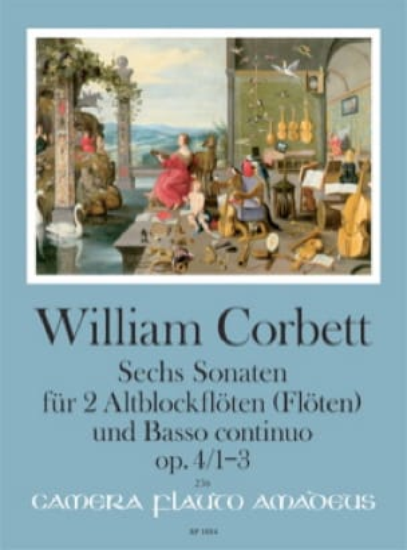 Six sonatas op. 4 - Volume 1 : Sonatas 1-3 - laflutedepan.com