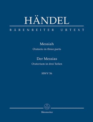 Der Messias HAENDEL Partition Petit format - laflutedepan