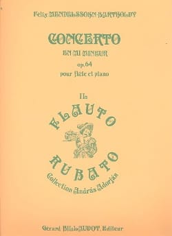 Concerto en Mi Mineur Op 64 - MENDELSSOHN - laflutedepan.com