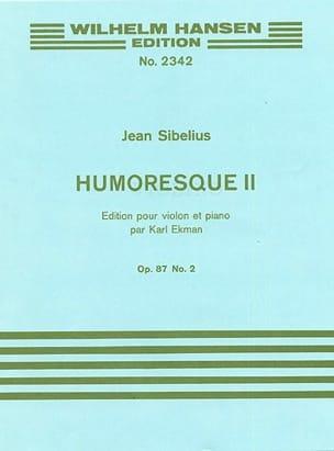 Humoresque 2, op. 87 n° 2 SIBELIUS Partition Violon - laflutedepan