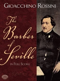 The Barber of Seville - Full Score ROSSINI Partition laflutedepan