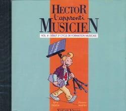 Sylvie DEBEDA, Florence MARTIN et Caroline HESLOUIS - CD - Hector The Apprentice Musician - Volume 4 - Partition - di-arezzo.co.uk