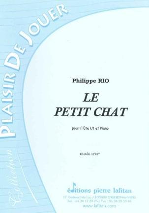 Le Petit Chat Philippe Rio Partition Flûte traversière - laflutedepan