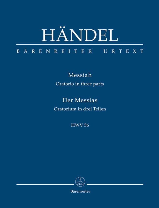 Der Messias - HAENDEL - Partition - Petit format - laflutedepan.com