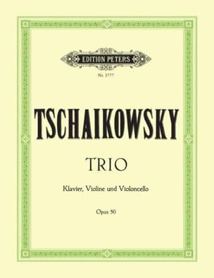 Trio op. 50 - Stimmen TCHAIKOVSKY Partition Trios - laflutedepan