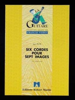 Six cordes pour sept images - Luc Petit - Partition - laflutedepan.com