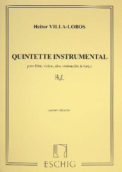 Quintette Instrumental - Parties VILLA-LOBOS Partition laflutedepan