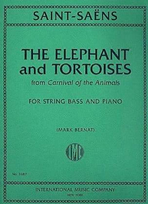 The Elephant and Tortoises SAINT-SAËNS Partition laflutedepan