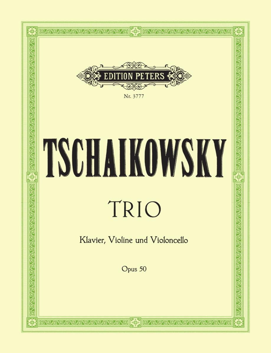 Trio op. 50 - Stimmen - TCHAIKOVSKY - Partition - laflutedepan.com