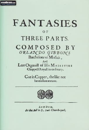 Fantasies of Three Parts or Viols -Rom - laflutedepan.com