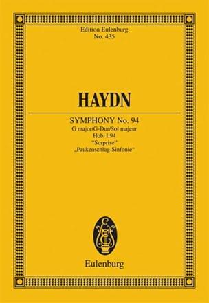 Sinfonie Nr. 94 G-Dur la Surprise HAYDN Partition laflutedepan