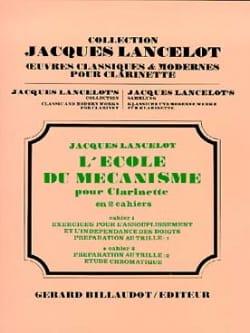 Ecole du Mécanisme - Volume 2 Jacques Lancelot Partition laflutedepan