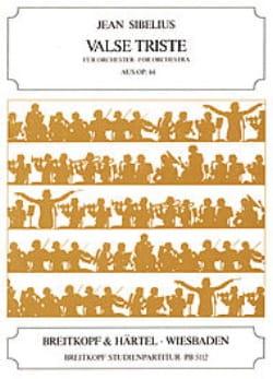 Valse Triste, op. 44 Partitur Petit SIBELIUS Partition laflutedepan