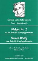 Walzer Nr. 2 - Salonorchester - Stimmen CHOSTAKOVITCH laflutedepan