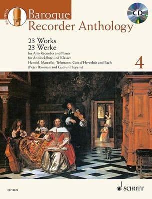 Baroque Recorder Anthology Volume 4 - laflutedepan.com