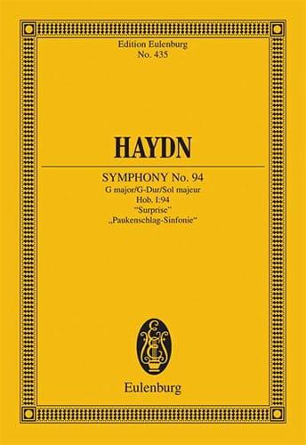 Sinfonie Nr. 94 G-Dur la Surprise - HAYDN - laflutedepan.com