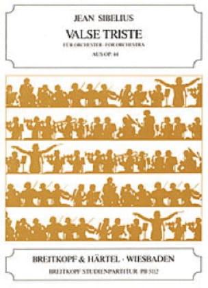 Valse Triste, op. 44 Partitur Petit - SIBELIUS - laflutedepan.com