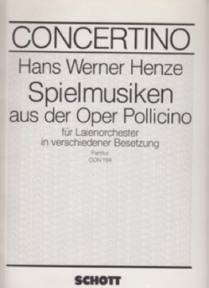 Spielmusik aus der Oper Pollicino - laflutedepan.com