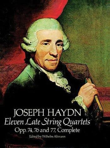 11 Late String Quartets, Op. 74, 76, 77 - HAYDN - laflutedepan.com