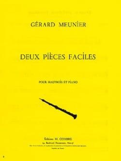 2 Pièces faciles Gérard Meunier Partition Hautbois - laflutedepan