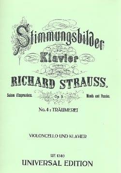 Träumerei op. 9 n° 4 Richard Strauss Partition laflutedepan