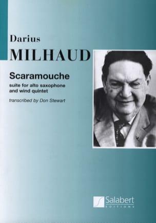 Scaramouche MILHAUD Partition Sextuors - laflutedepan