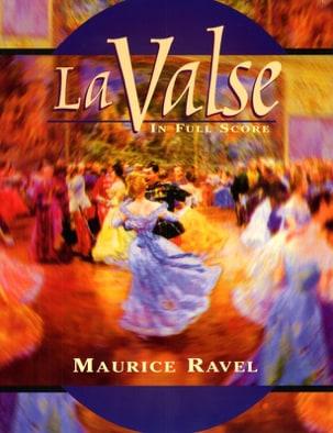 La Valse RAVEL Partition Grand format - laflutedepan