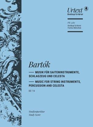 Musique pour Cordes, Percussion et Célesta Béla Bartok laflutedepan