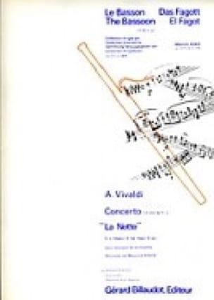 Concerto F. 8 n° 1 La Notte en sib majeur - VIVALDI - laflutedepan.com