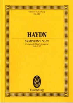 Sinfonie N° 97 C-Dur HAYDN Partition Petit format - laflutedepan