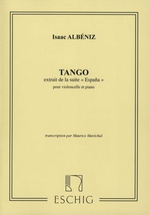 Tango op. 165 n° 2 - Violoncelle ALBENIZ Partition laflutedepan