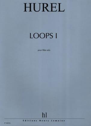 Loops I Philippe Hurel Partition Flûte traversière - laflutedepan