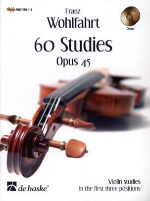 60 Etudes Op 45 2 CD Franz Wohlfahrt Partition Violon - laflutedepan