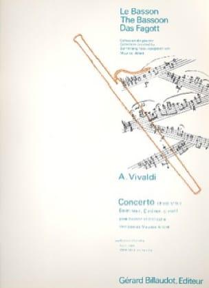 Concerto F. 8 n° 14 en do mineur - VIVALDI - laflutedepan.com