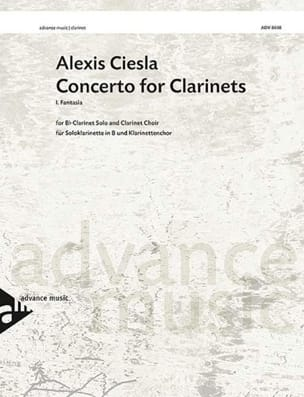 Concerto for Clarinets 1er mvt Fantasia - score & parts laflutedepan