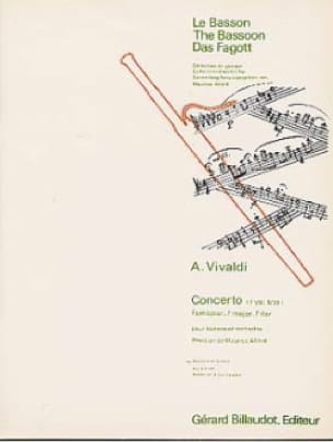 Concerto F. 8 N° 19 en Fa Majeur - VIVALDI - laflutedepan.com