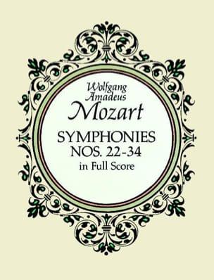 Symphonies N° 22-34 - Full Score MOZART Partition laflutedepan