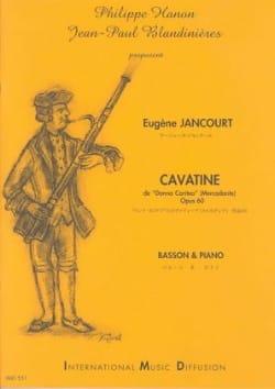 Cavatine Eugène Jancourt Partition Basson - laflutedepan